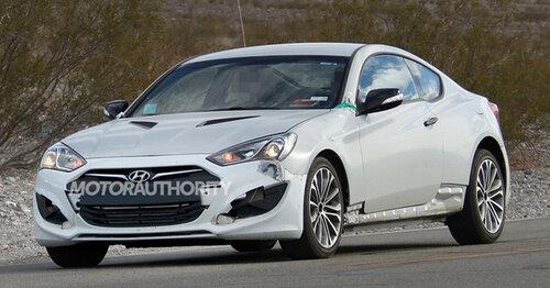 Какой двигатель будет у Hyundai Genesis Coupe?