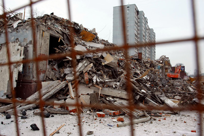 В Москве за одну неделю было снесено пять «хрущевок»