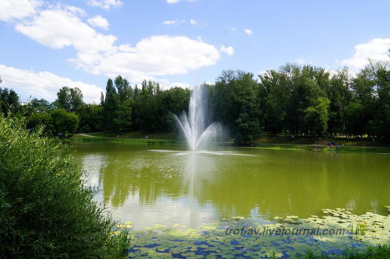 Пруд с фонтаном, Дзержинский