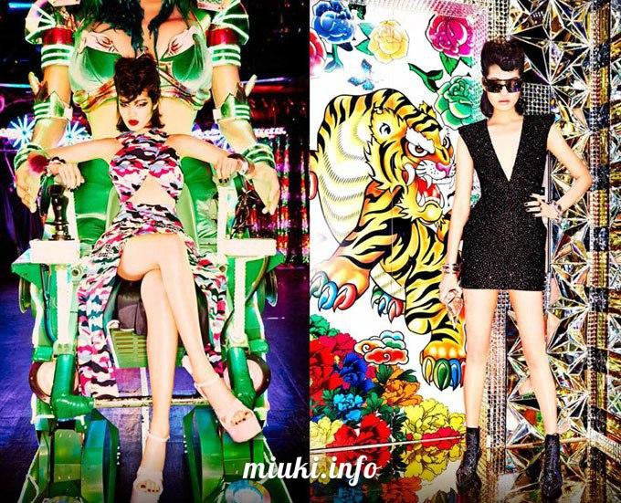 Фотосессия Неоновые девушки Токио