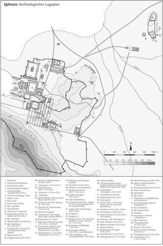 Генплан античного города Эфеса