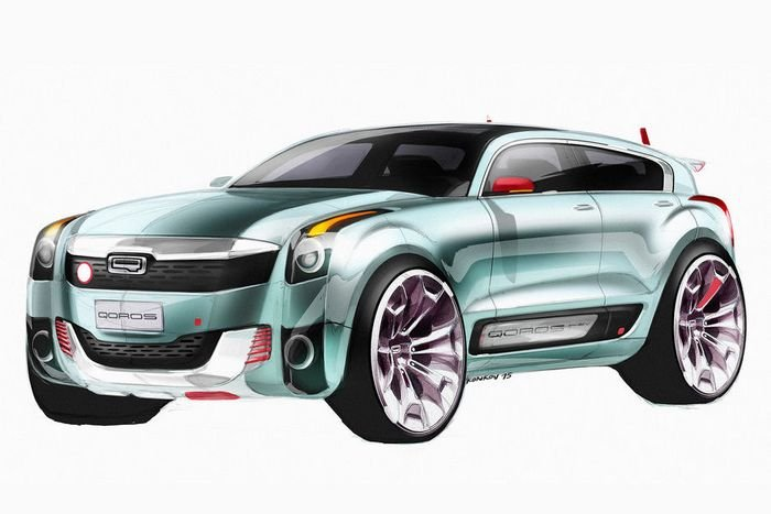 Qoros готовит к дебюту соперника MINI Countryman и Nissan Juke