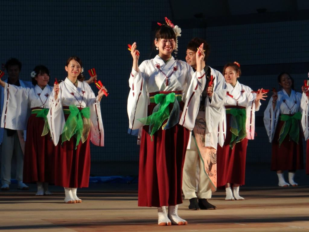 «Super Yosakoi» - японский фестиваль танца