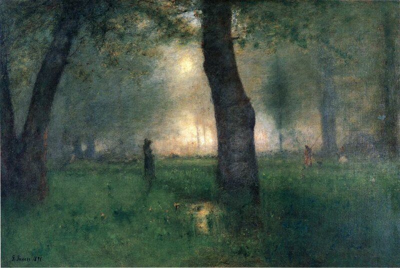 Inness George. The Trout Brook