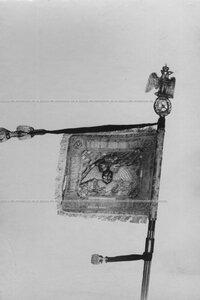 Штандарт конвоя периода правления Александра II.