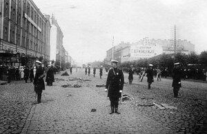 Место взрыва  кареты министра внутренних дел В.К.Фон-Плеве на Измайловском проспекте.