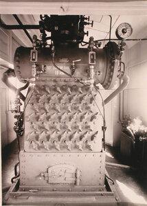 Общий вид парового котла второй электрической станции.