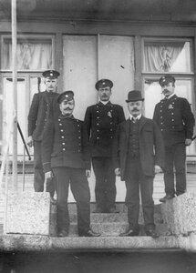 Члены следственной комиссии и сыскной полиции.