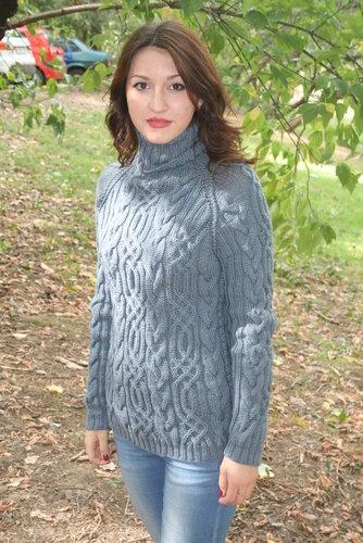 свитер вязание
