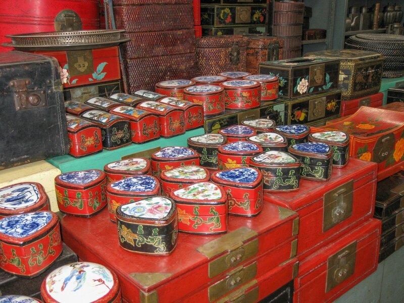 Шкатулки, рынок Паньцзяюань, Пекин