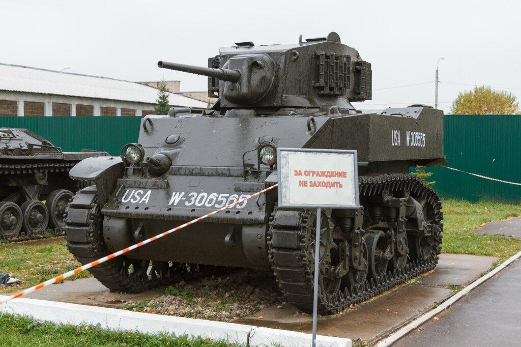 """Американский танк М-3 """"Стюарт""""(M3 Stuart), Кубинка"""