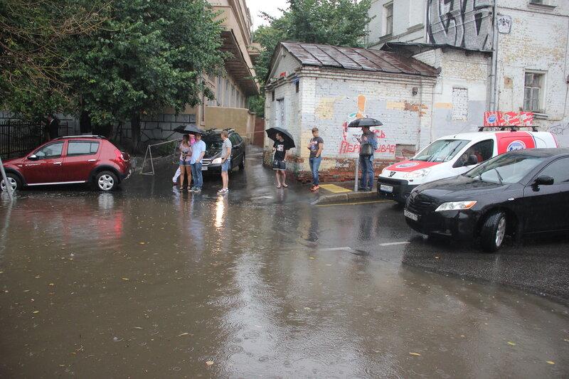 Хохловский пруд. 08.08.2014
