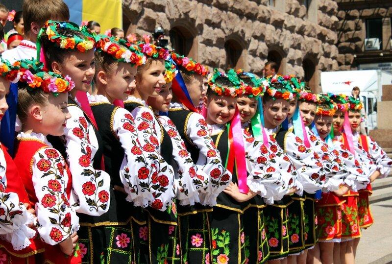 Церемония открытия Дня Европы в Киеве