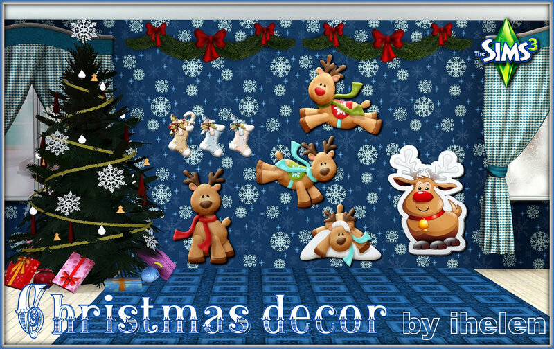 Christmas decor(TS3) by ihelen