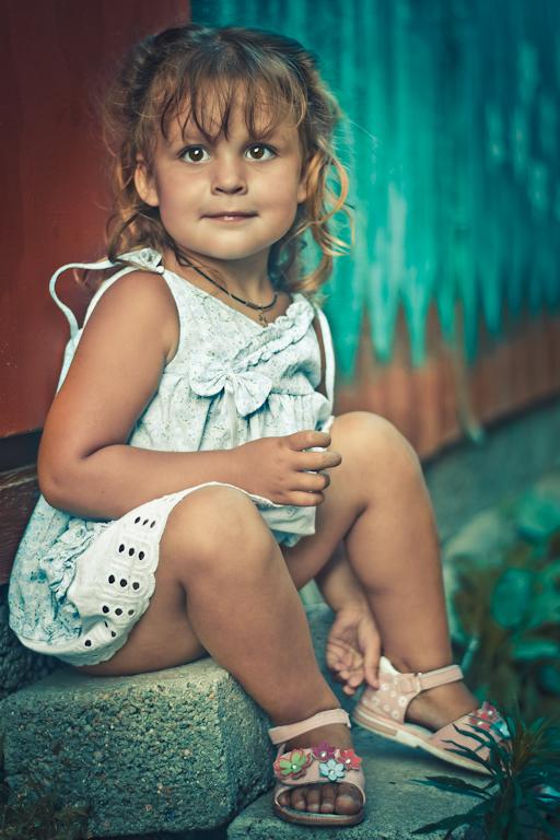 Фотография 2. Камера Nikon D3100. Объектив - фикс Nikkor 50/1.8G.  Маленькая Мона Лиза