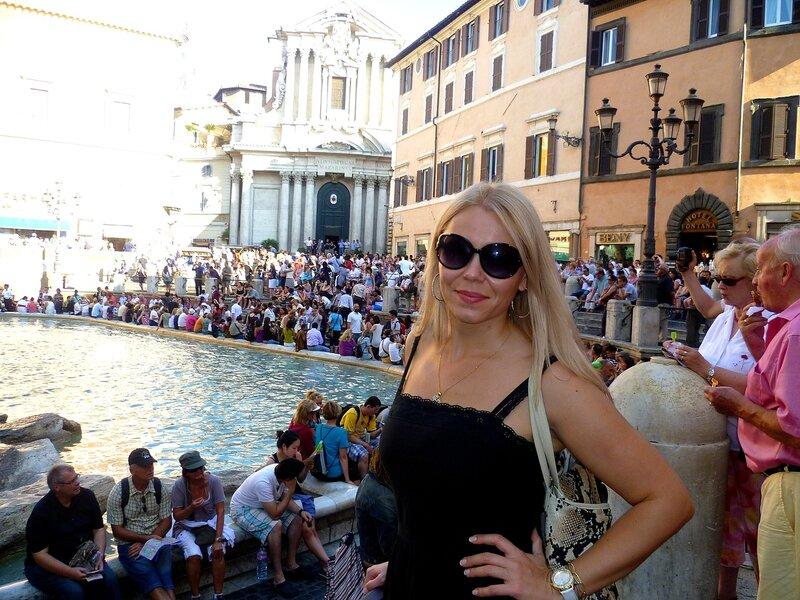 Италия, Рим - фонтан Треви (Italy, Rome - Trevi Fountain)