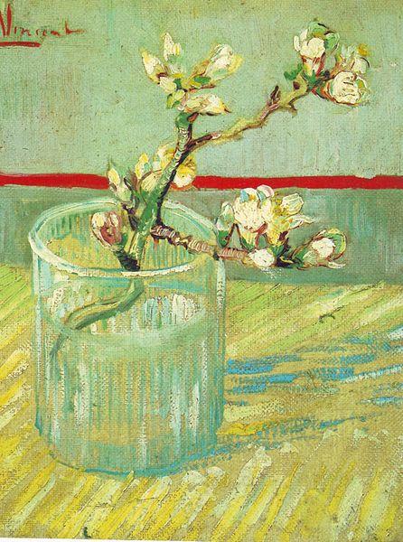 Цветущие ветки миндаля. Винцент ван Гог