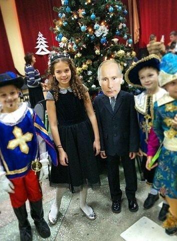 Новый год - Путин