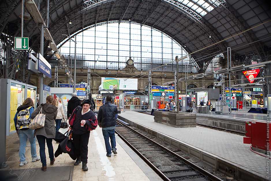 как добраться из фрпнкфурта до штутгарта: