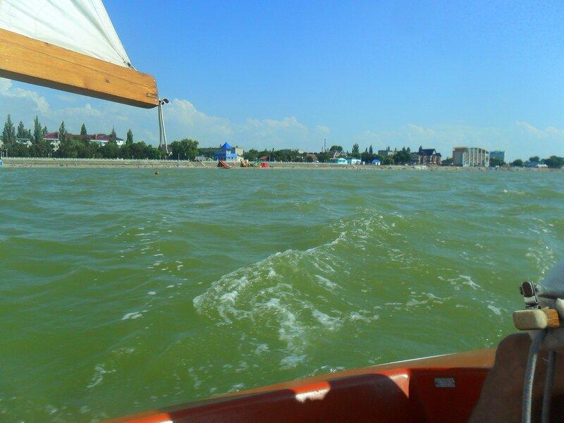 С яхтой по водам Азовским