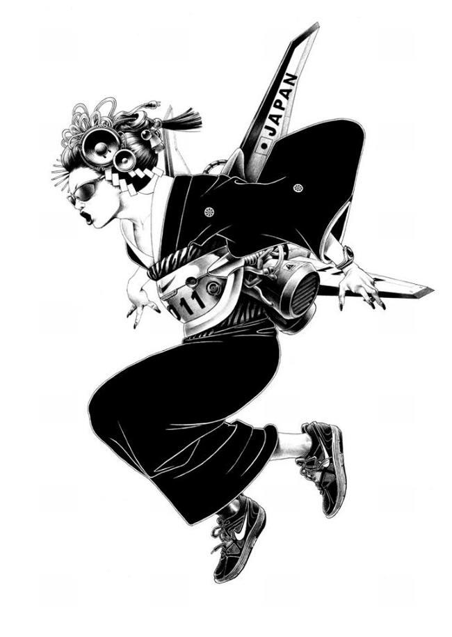 Сумасшедшие рисунки японского художника Shohei Otomo (9)