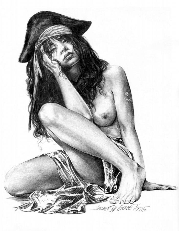 Графика: истории из жизни девушек - пираток (29)