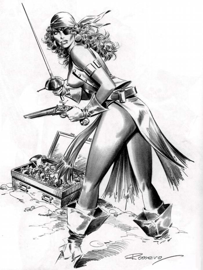 Графика: истории из жизни девушек - пираток (41)