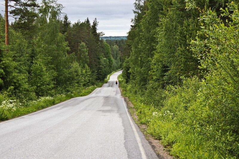 дорога 16811 на Сумиайнен (Sumiainen)