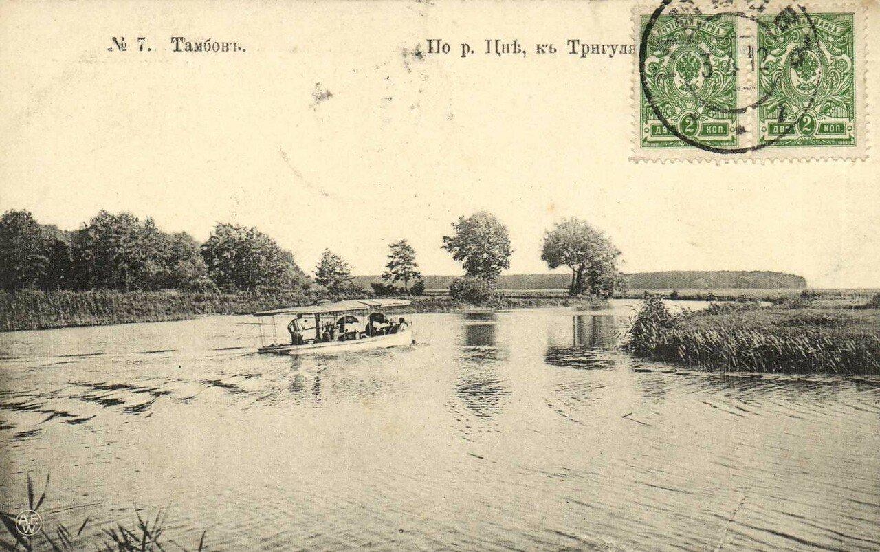 Окрестности Тамбова. По реке Цне. к Тригуляеву