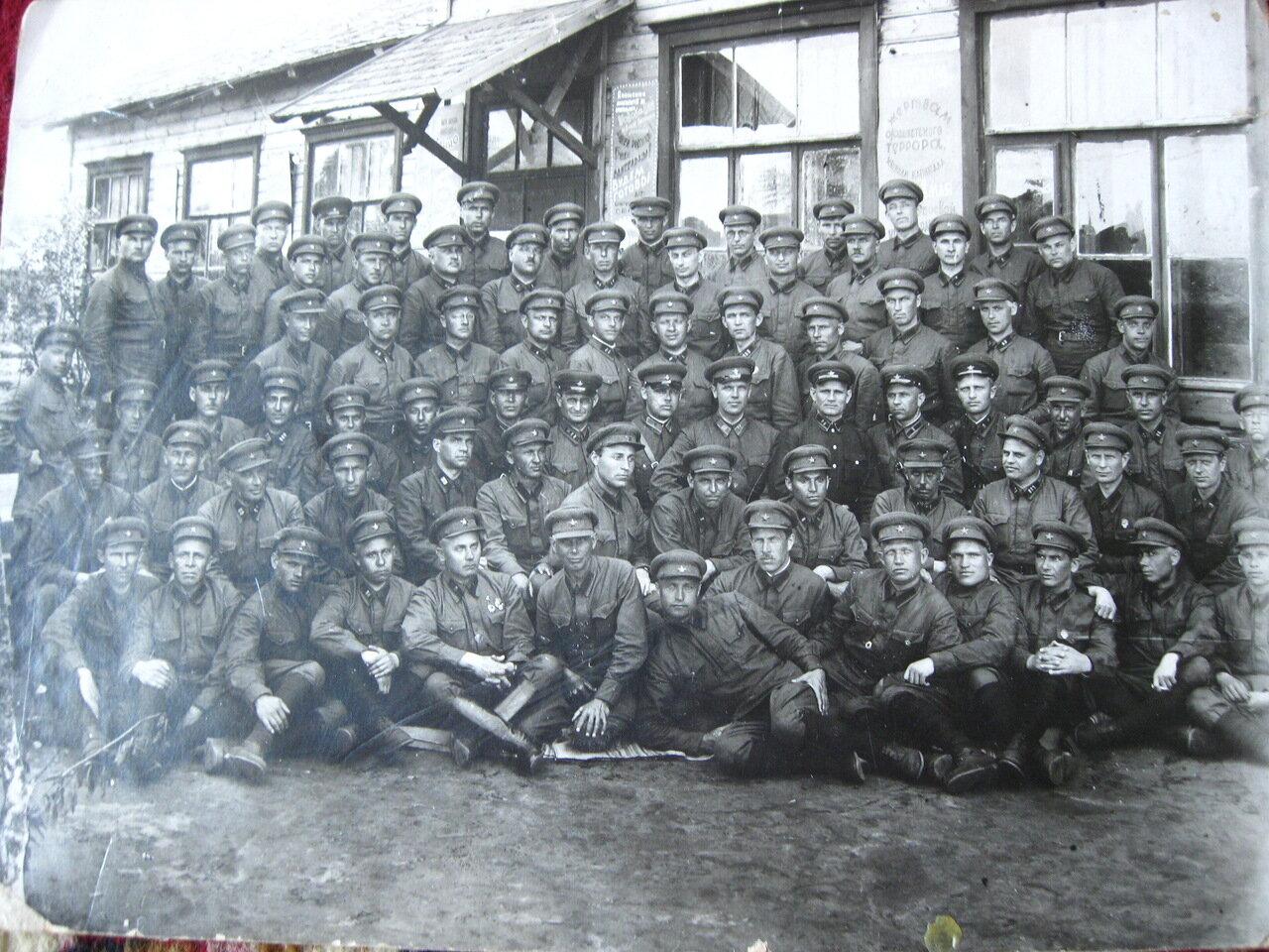 1936. Академия им. Фрунзе, переподготовка