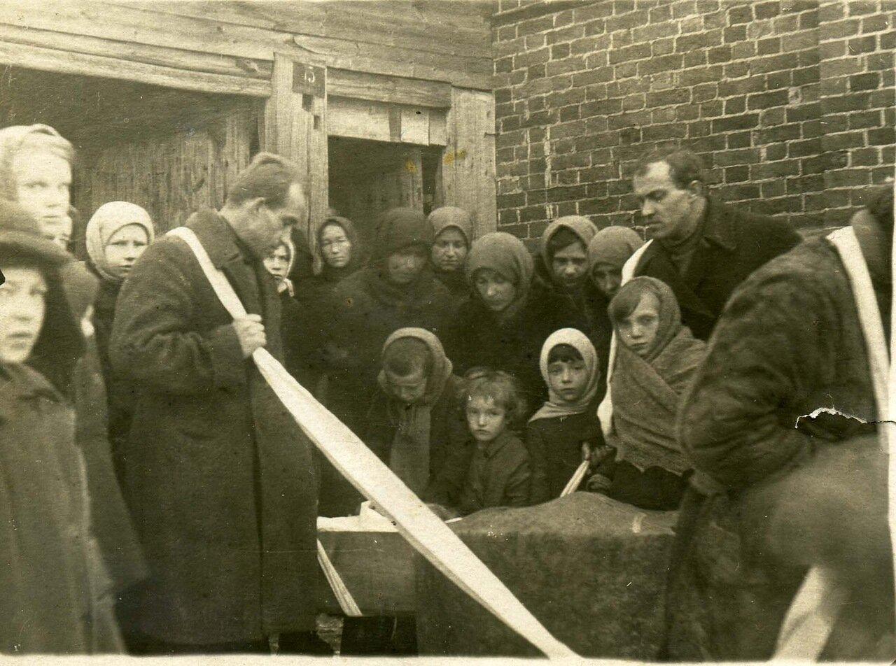 Владимирская область, село Старый Двор.январь 1936 г.