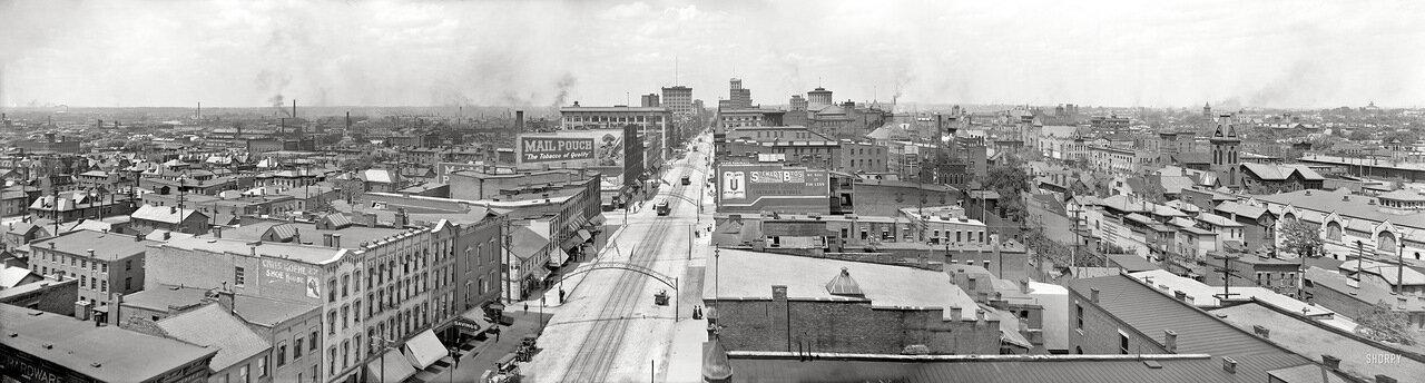 1909. Панорама Коламбуса, Огайо
