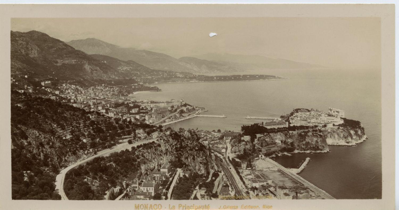 1890. Вид на Монако