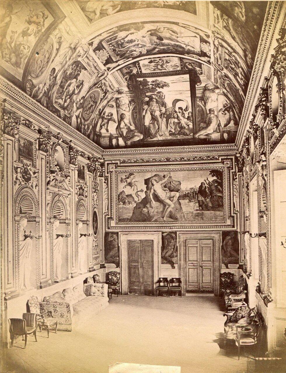 Зал в Палаццо Фарнезе. 1880