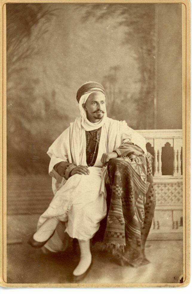 1880. Портрет араба