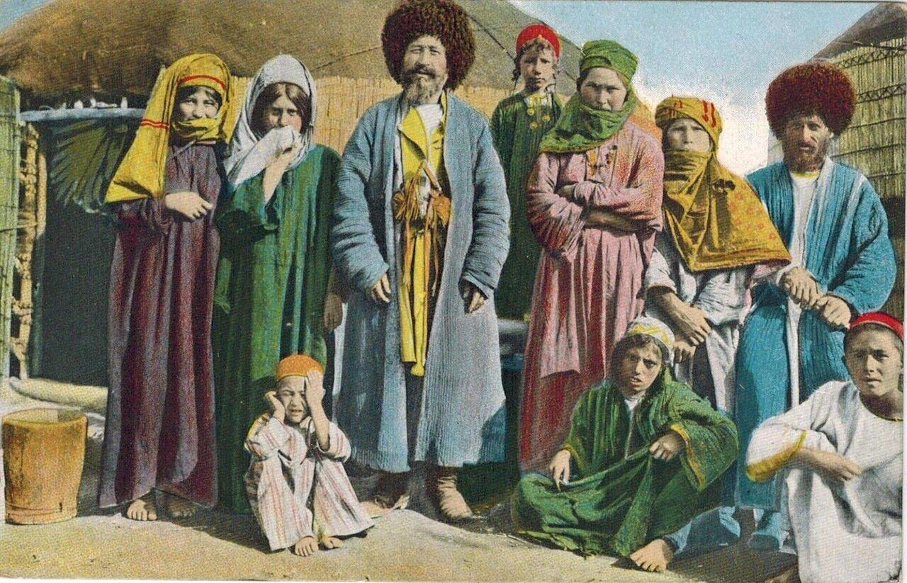 Типы Средне-Азиатских владений. Семейство текинцев