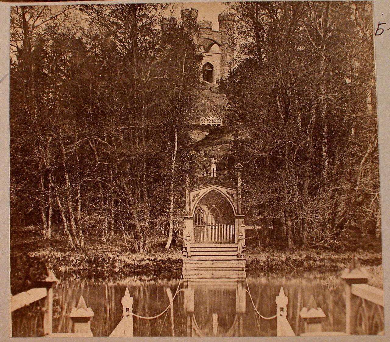 47. Вид паромной переправы и входных ворот на остров Людвигштайн