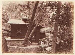 27. Деревянный домик в парке Александрия