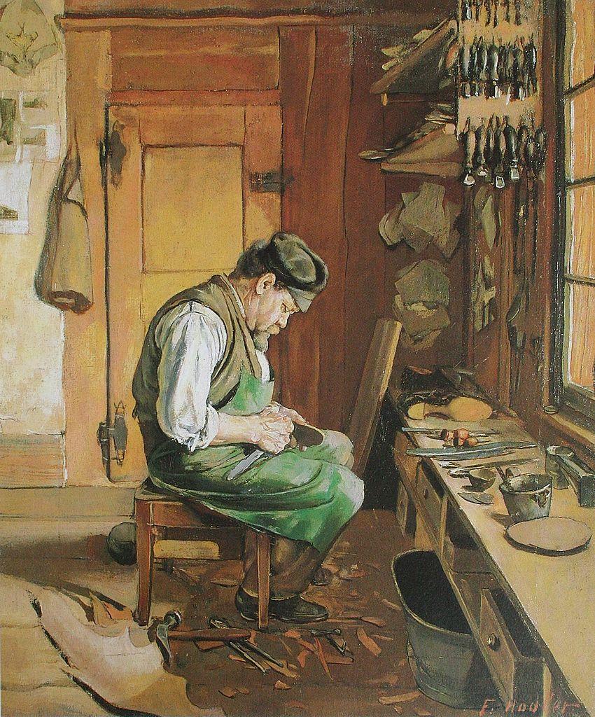 Hodler_Der_Schuhmacher_1878