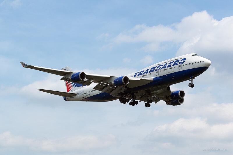 Boeing 747-446 (EI-XLF) Трансаэро D805989