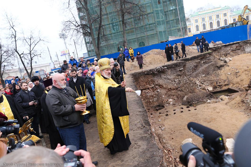 строительство Спасо-Преображенского кафедрального собора
