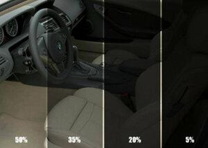 За излишнюю тонировку авто в Молдове - грозит штраф