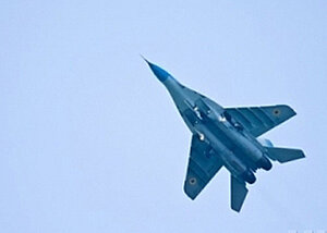 Ополченцы на Украине сбили армейский истребитель МиГ-29