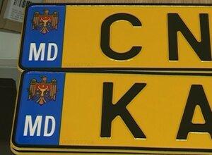В Молдове введены желтые номерные знаки