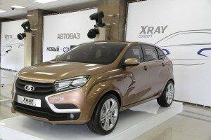 Стоимость новой Lada XRAY составит 500 000 рублей