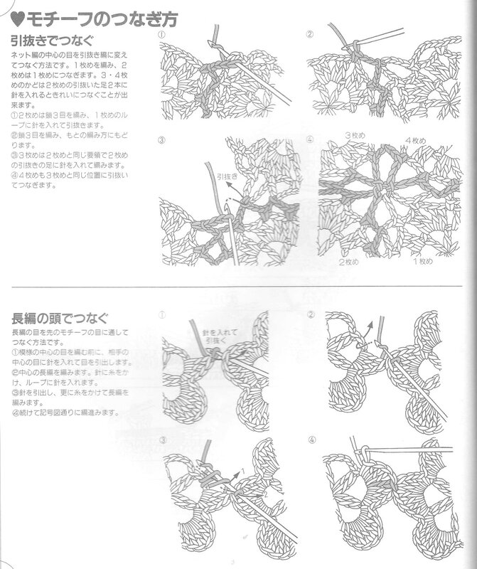 【转载】日文编织杂志(54) - 荷塘秀色 - 茶之韵