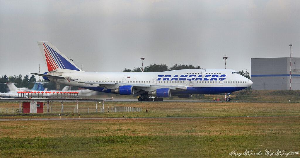 Boeing 747-4F6 Transaero VQ-BHW