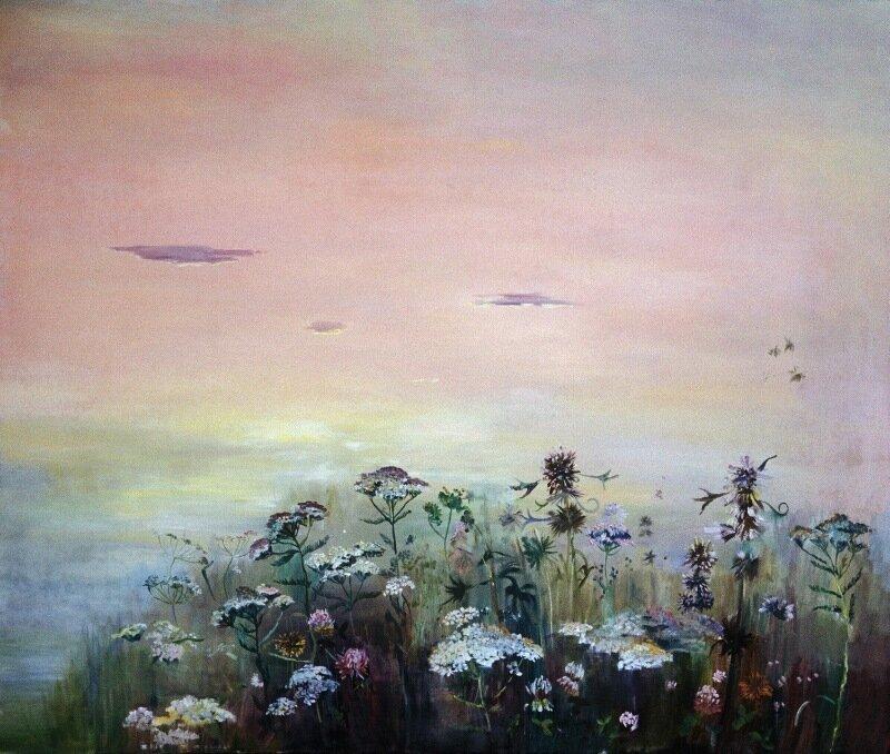 Ольга Таланцева12.jpg. Где буйствуют травы, пропахшие мёдом, И тропки, как строчки – уходят в луга,