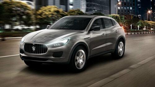 Maserati Levante засекли на тест-драйве