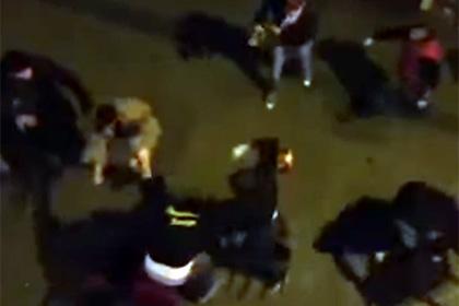 Фанаты «Галатасарая» совершили нападение на болельщиков «Боруссии»